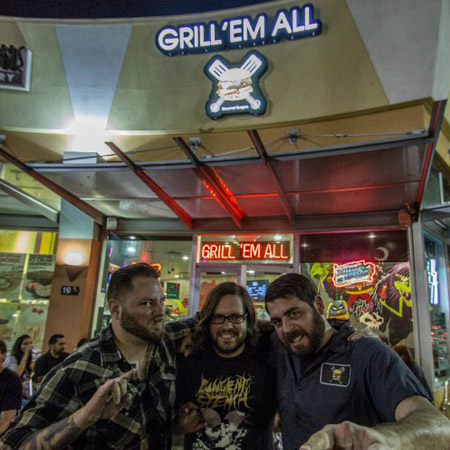 The Black Dahlia Murder partied hard for their DVD release at Valhalla.